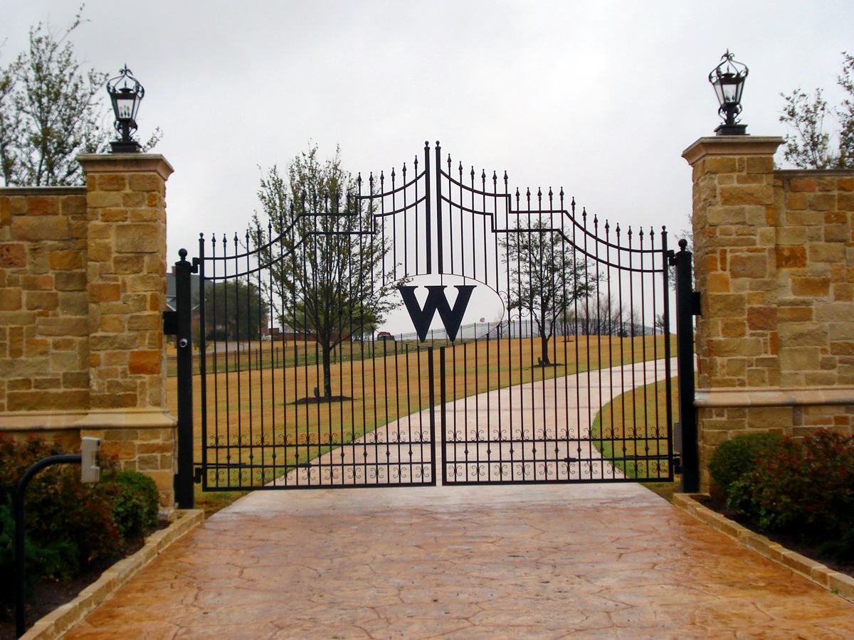Wrought Iron Gates: Custom Ornamental Iron & Gates : Adams Fence Co