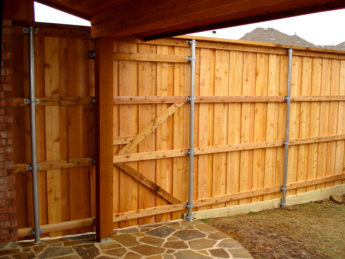 Custom Wood Gates Adams Fence Co